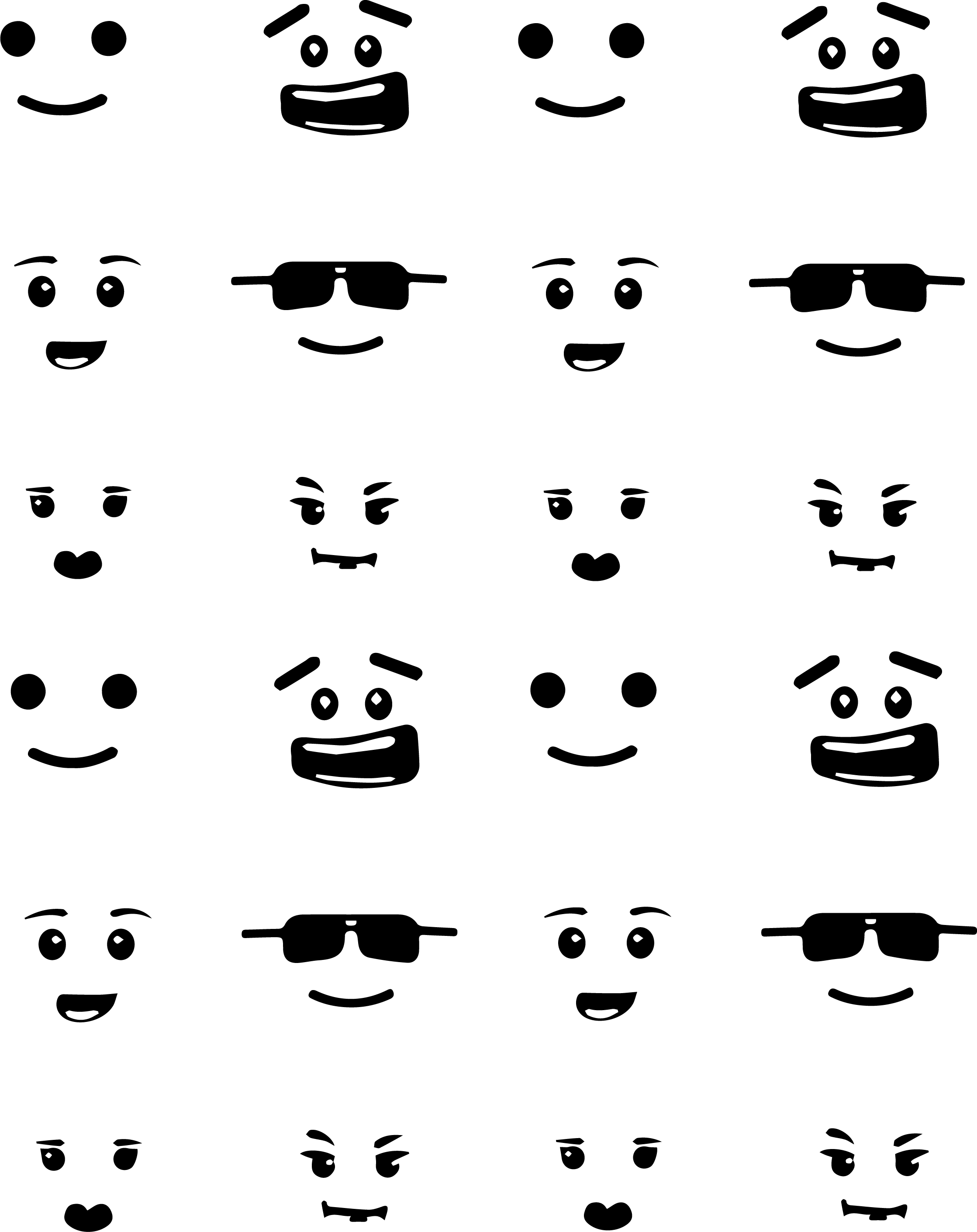 graphic relating to Printable Lego Faces named How I produced a LEGO bash Shan Fourie
