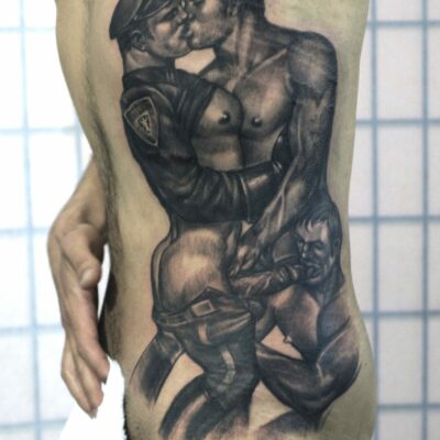 zhuo dan ting tattoo work tom of finland 1 1