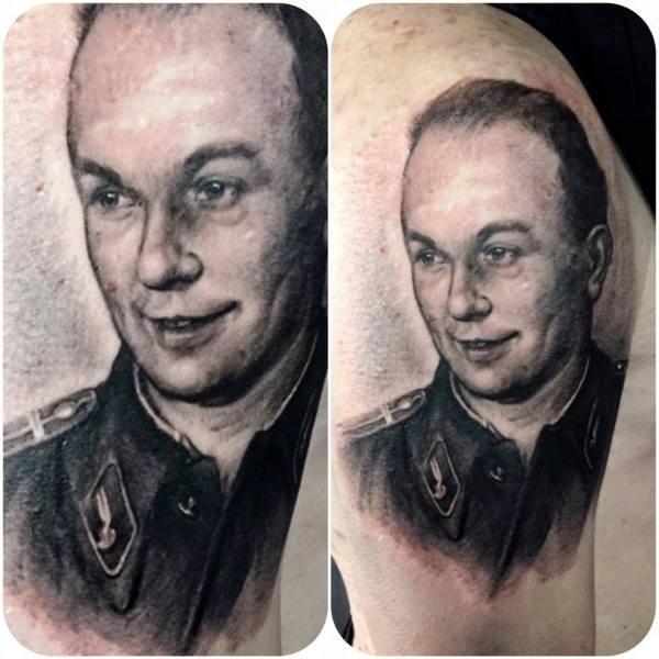 Zhuo-Dan-Ting-Tattoo-Work-portrait-tattoo卓丹婷写实肖像纹身
