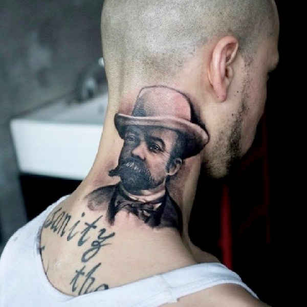 Zhuo-Dan-Ting-Tattoo-work-卓丹婷纹身作品写实肖像