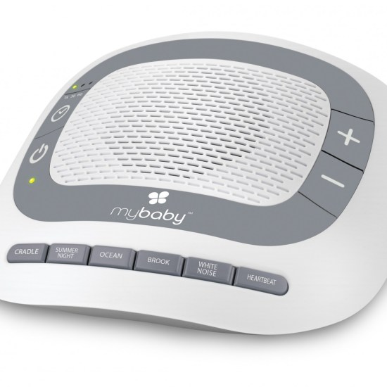 MyBaby SoundSpa Portable - Lullaby, Heartbeat & White Noise Baby Sleep Aid - £29.99