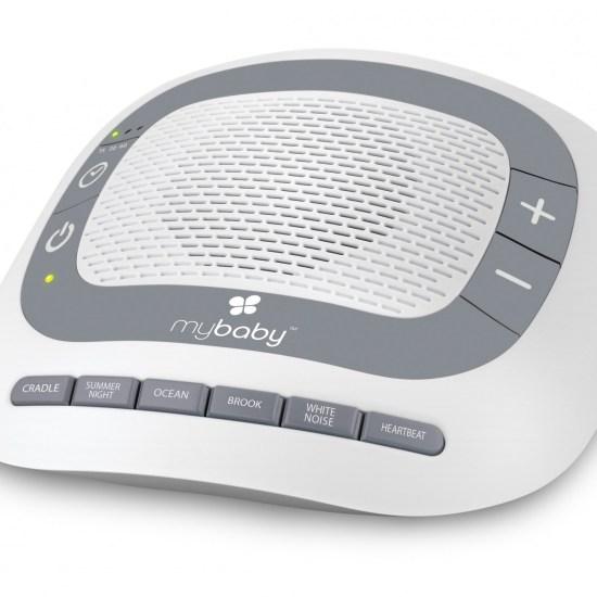 MyBaby SoundSpa Portable - Lullaby, Heartbeat & White Noise Baby Sleep Aid - £29.99