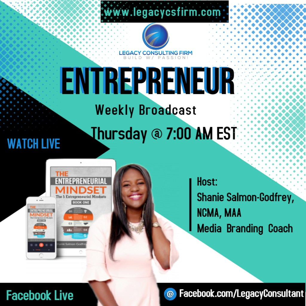 Legacy Weekly Entrepreneur Broadcast - Made with PosterMyWall