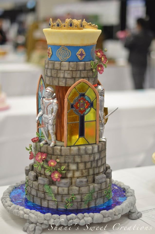 castle wedding cake- awards