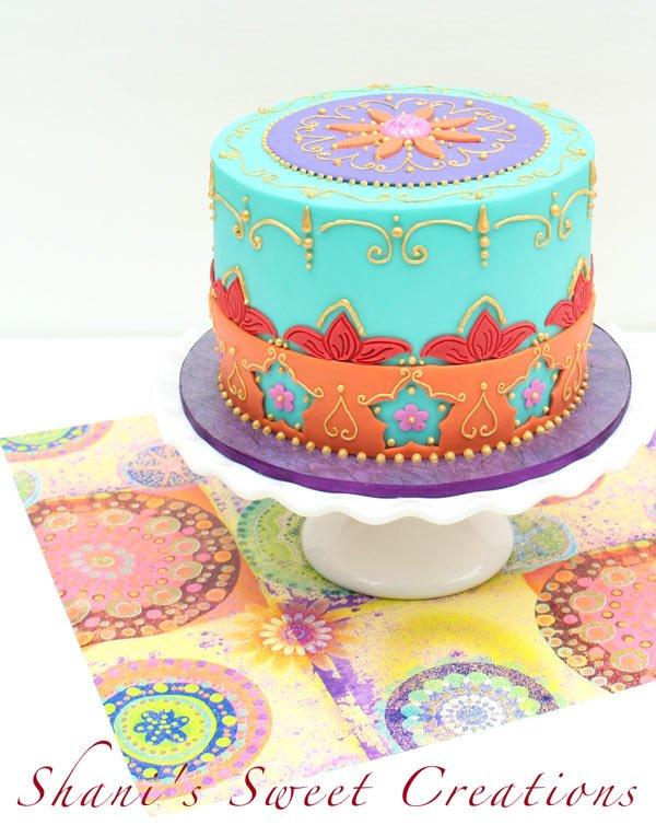 henna cake