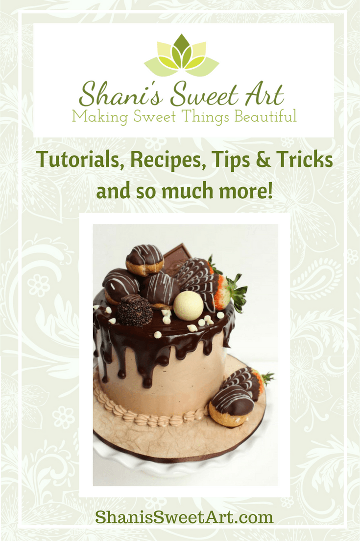 Introducing Shani's Sweet Art.  I am a professional cake and sugar artist sharing my passion for making sweet things beautiful.