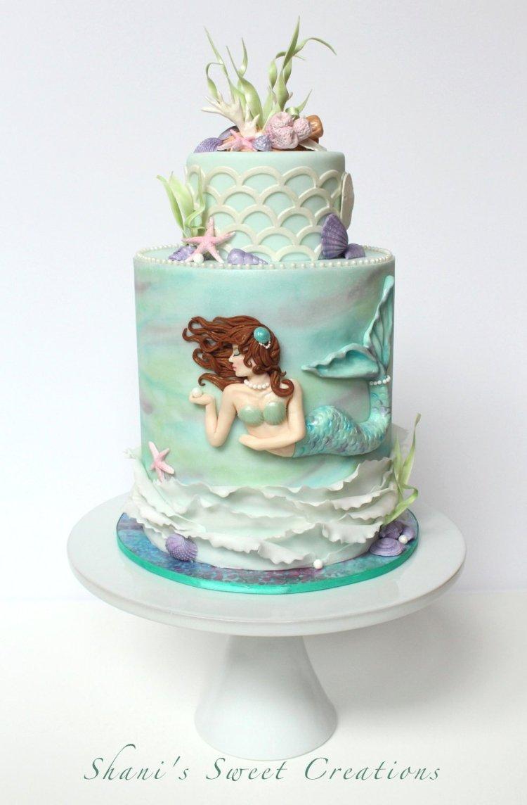 mermaid cake publications
