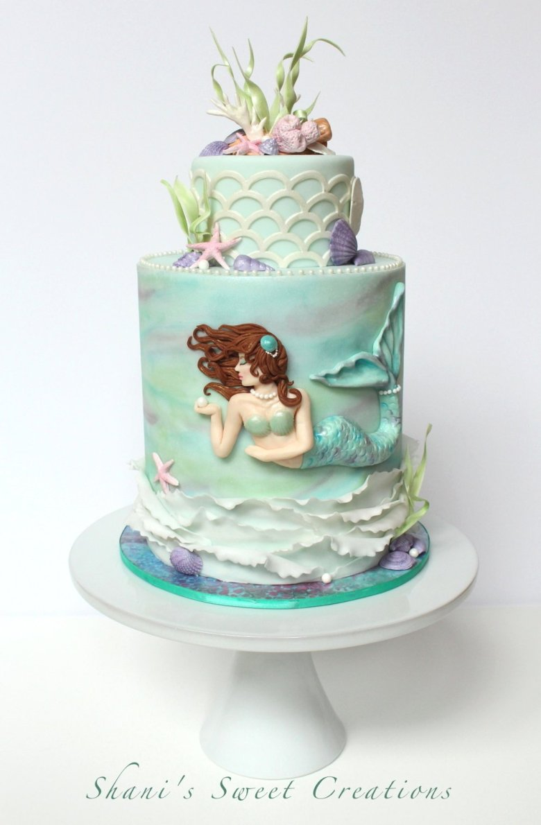mermaid cake publications