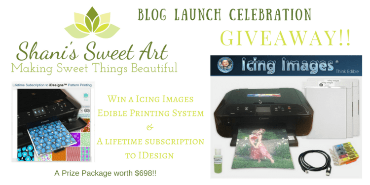 Blog Launch celebration giveaway