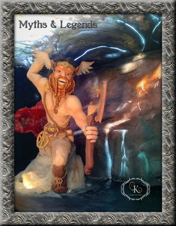 Myths & Legends cake collaboration