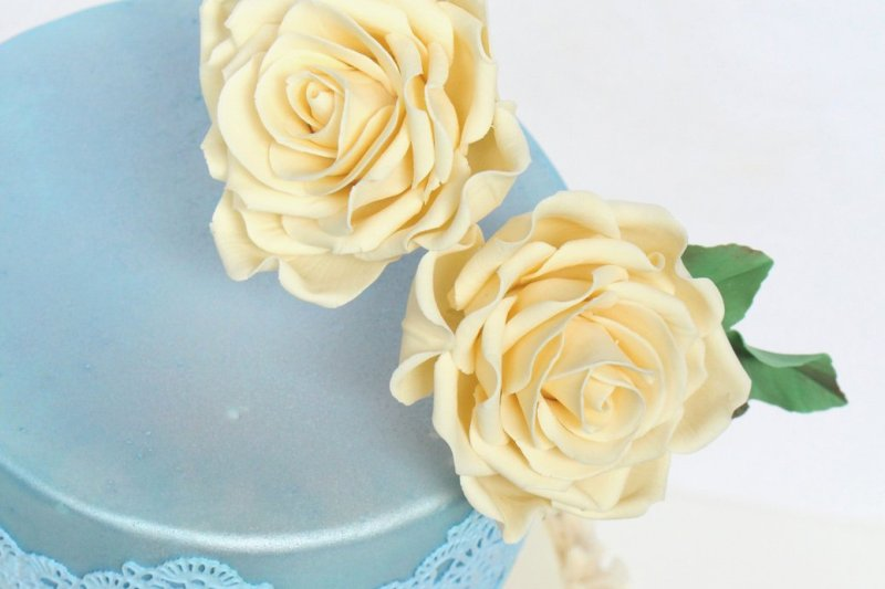 easy sugar rose tutorial