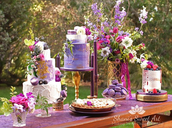 2018 Wedding Cake Trends Upscale Rustic Shanis Sweet Art