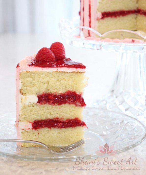 raspberry cake filling - fresh raspberry compote recipe
