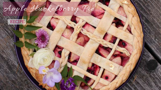apple huckleberry pie recipe