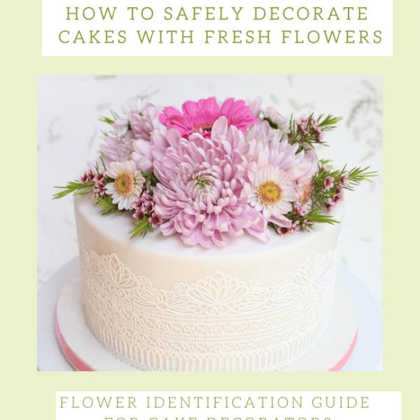 Flower identification guide for cake decorators