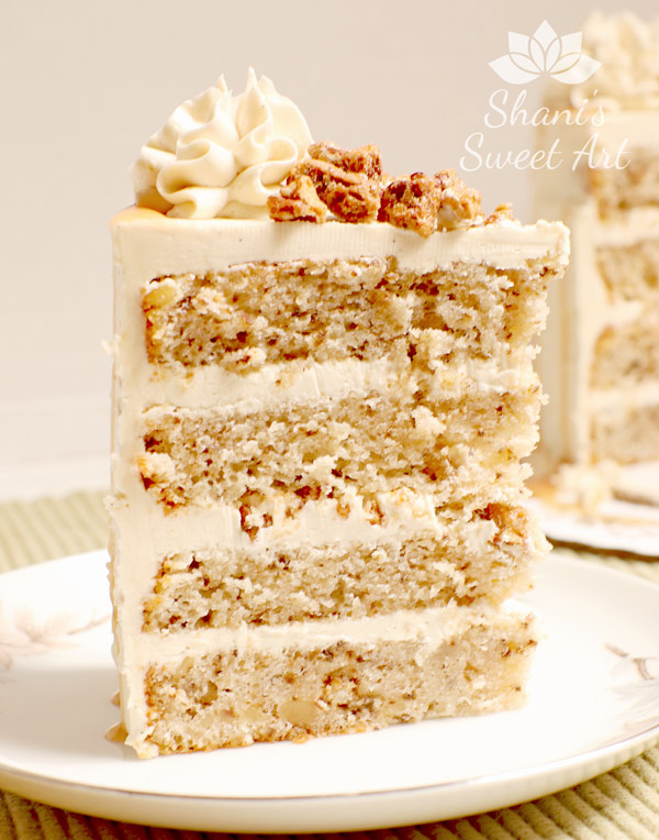 buttermilk walnut cake recipe