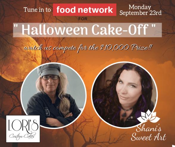Halloween Cake-Off announcement