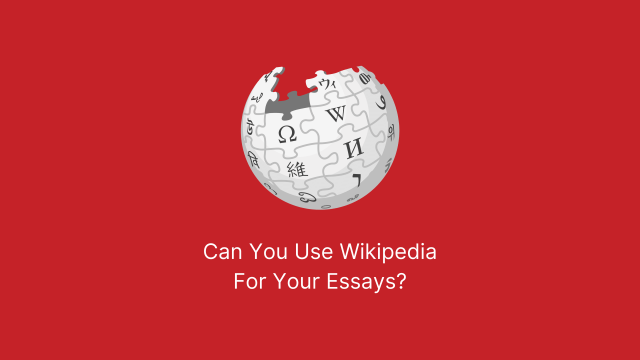Can You Use Wikipedia? Red Banner