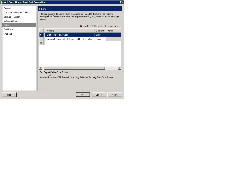 Replaying failed messages from BizTalk ESB portal Part 1 (3/3)