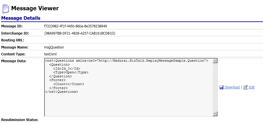 Replaying failed messages from BizTalk ESB portal Part 2 (5/6)