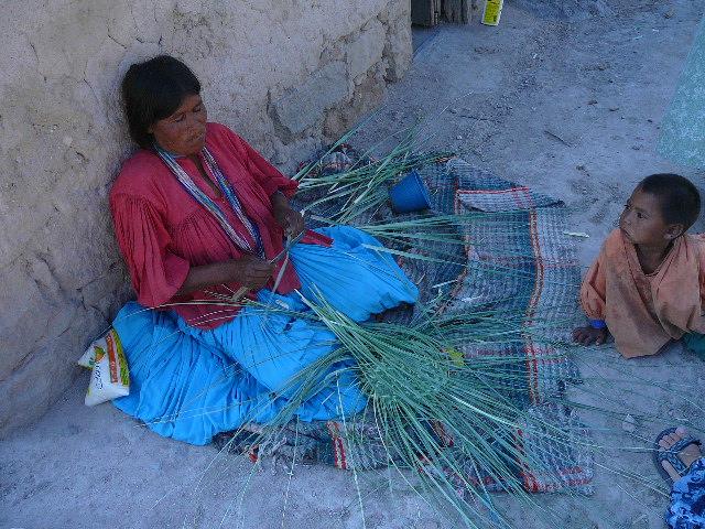 Basket making - Santa Rita