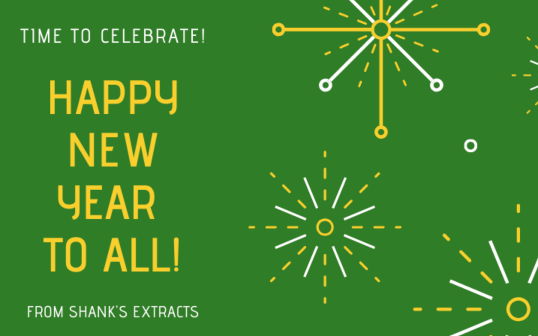 Happy New Year From Shank's Extracts