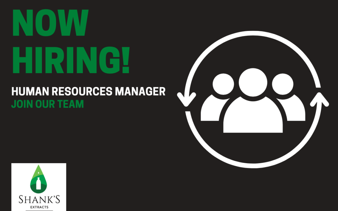 Now Hiring – Human Resources Manager