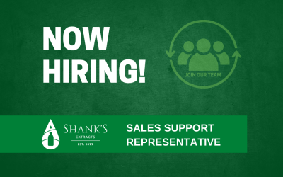 Now Hiring – Sales Support Representative