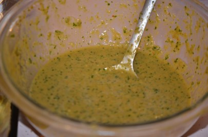 Reserve Remaining Sauce from Tofu Marinade