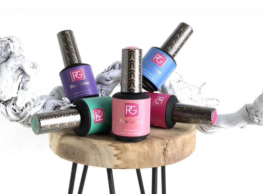 MIAMI VIBE COLLECTION | PINK GELLAC