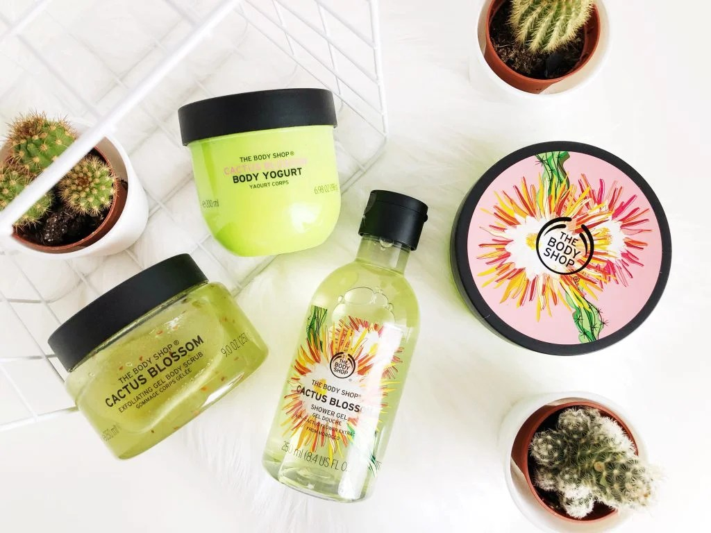 CELEBRATE SPRING WITH CACTUS BLOSSOM | The Body Shop