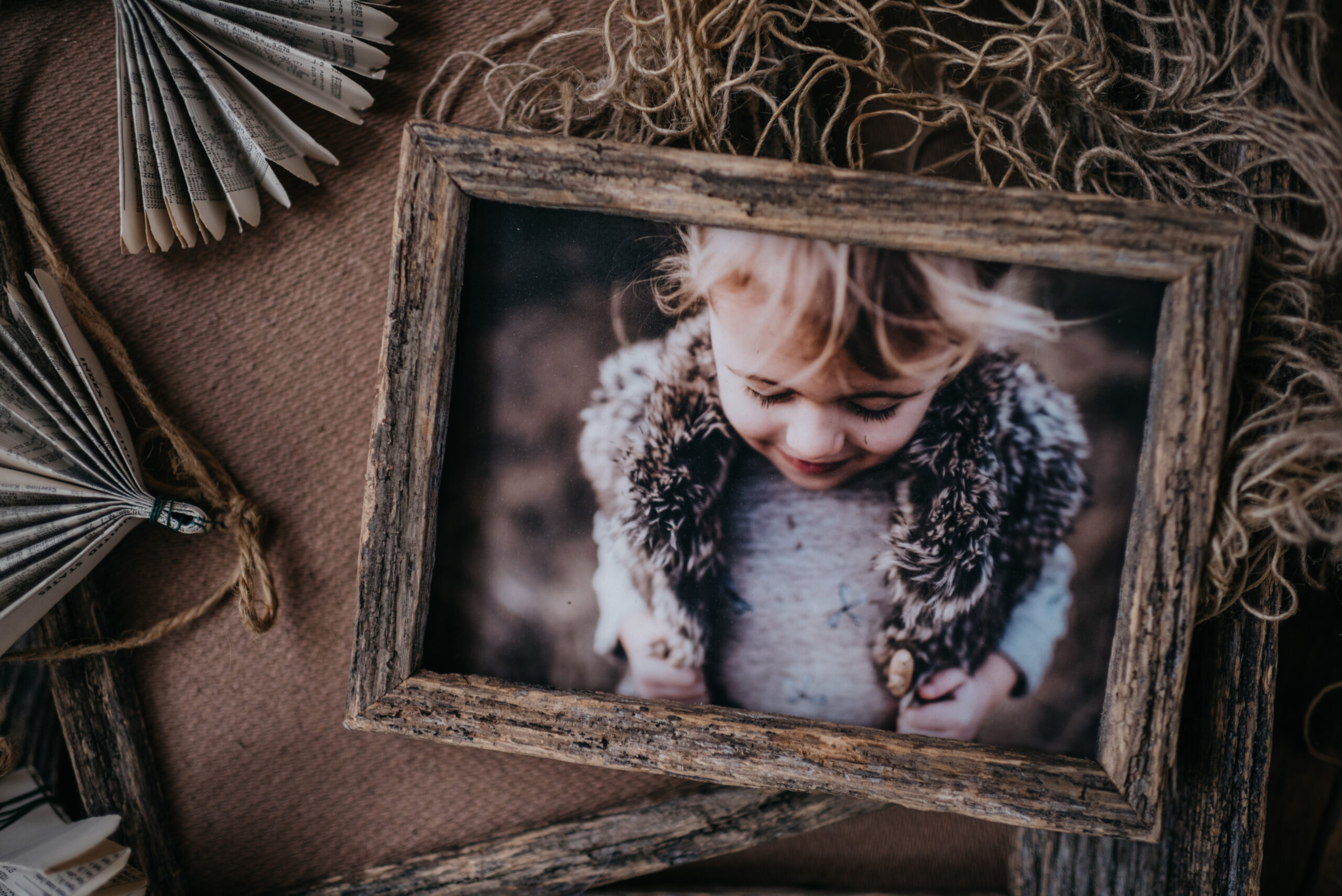 Our barnwood frames are crafted from locally sourced wood and are a perfect compliment to any of our print options.