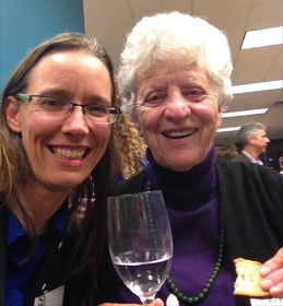 And I had the chance to chat with my friend and mentor, Lucy Ferrari, who was visiting from Carona, Switzerland.