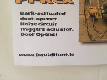 We also met David Hunt...
