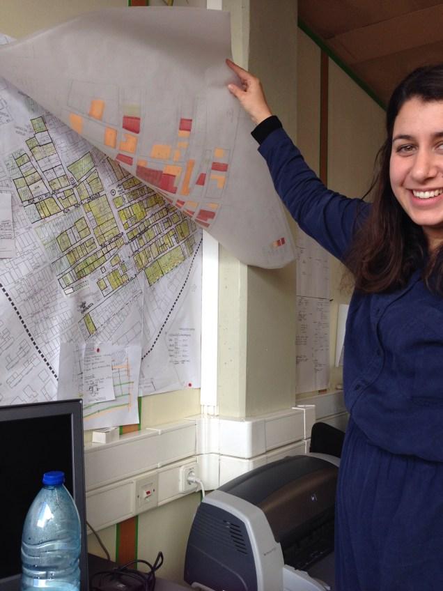 PhD student Mafalda Panheco.