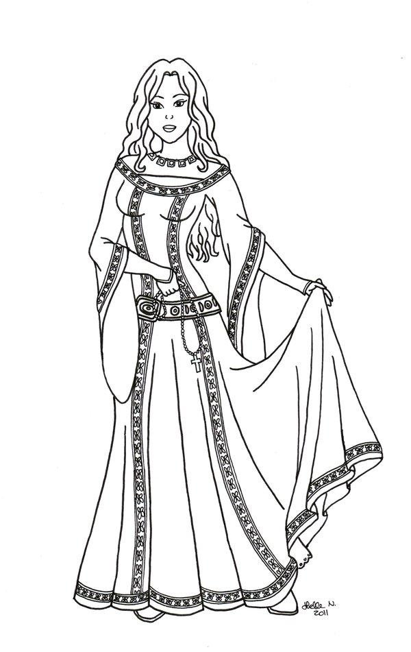 Princess Dress Inspiration Tir Na NOg Interactive