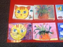 Work from my Beginning/Intermediate students at the Oregon Artist School