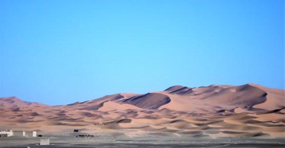 At the foot of the Sahara