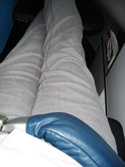 First class padded seatbelt