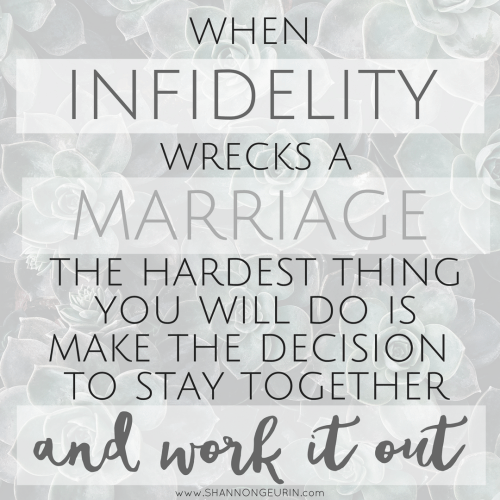 Infidelity and restoration: How my marriage survived when it had every reason to fail.
