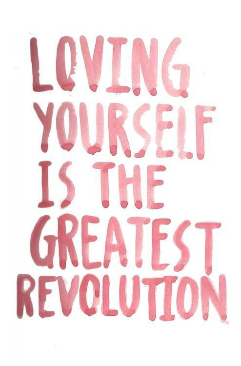 What if loving yourself had nothing to do with you and everything to do with loving others? Start a revolution of loving yourself. When we love ourselves we can love others better!
