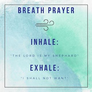 Breath prayer pray without ceasing