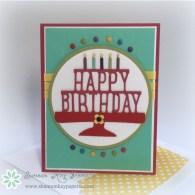 Big Bold Birthday – 30 Day Card Challenge, Day 5