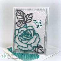 Rose Wonder – 30 Day Card Challenge, Day 9