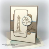Stampin Up Masculine From Land to Sea Card Ideas - Shannon Jaramillo Stampinup