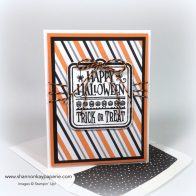Stampin Up Spooky Fun Halloween Card Ideas - Shannon Jaramillo Stampinup