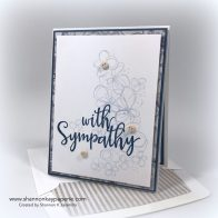 With Sympathy Sympathy Card Ideas - Shannon Jaramillo Lil Inkers