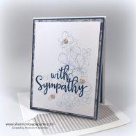 With Sympathy Sympathy Card Ideas - Shannon Jaramillo Lil Inkers