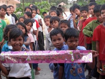 little kids at FLO