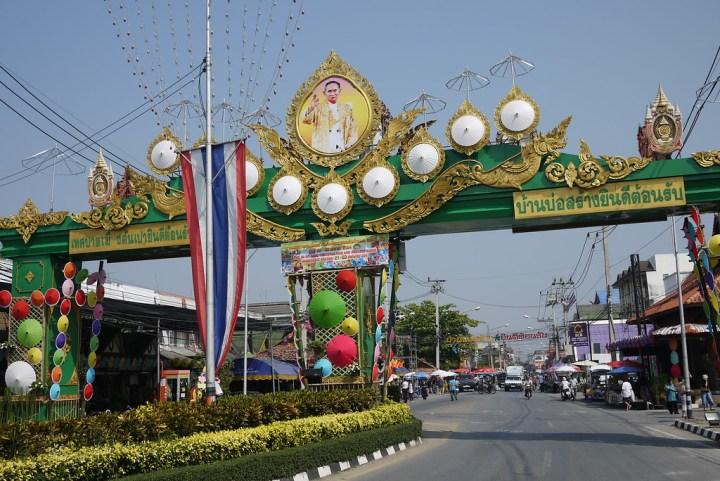 Bo Sang Umbrella Festival, Chiang Mai, Thailand